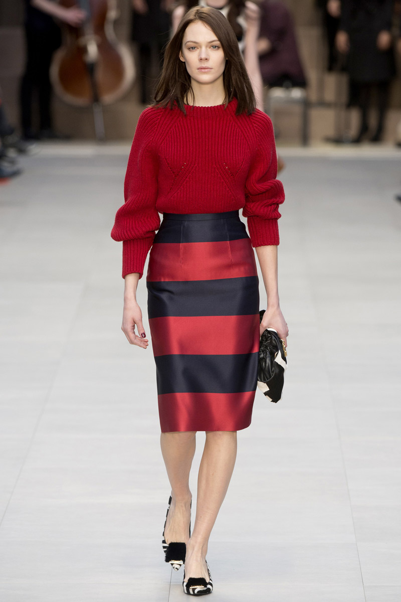 Burberry Prorsum (vía Vogue.es)