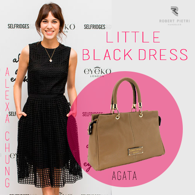 ALEXA CHUNG Little Black Dress LTB