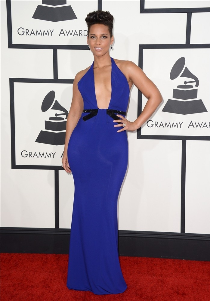 Alicia Keys grammy 2014