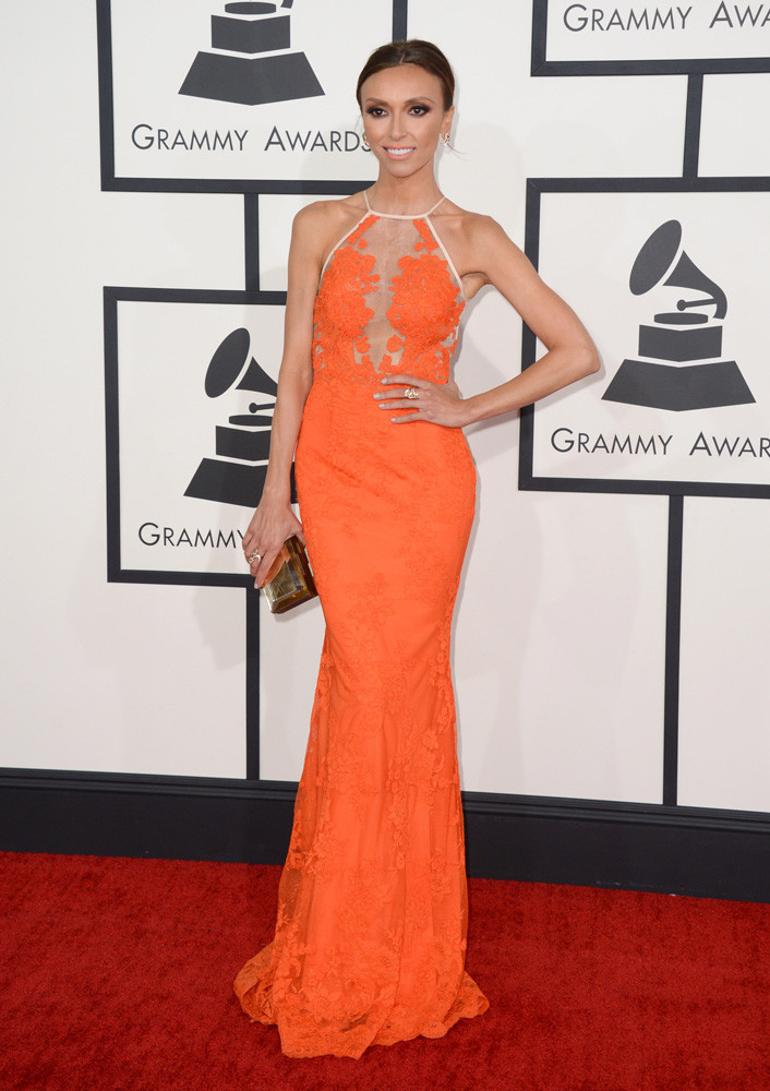 giulianna rancic grammy 2014