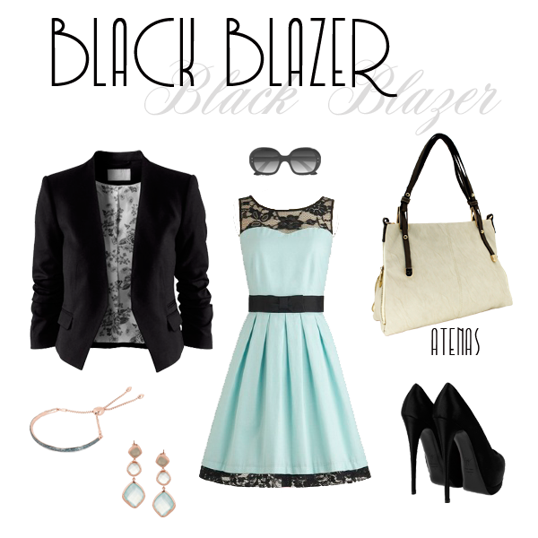 Black Blazer Look