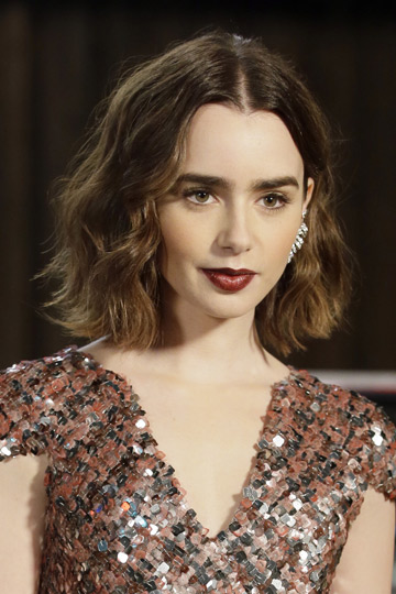 lily collins tendencias
