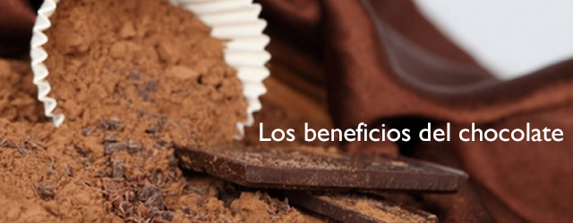 los beneficios del chocolate