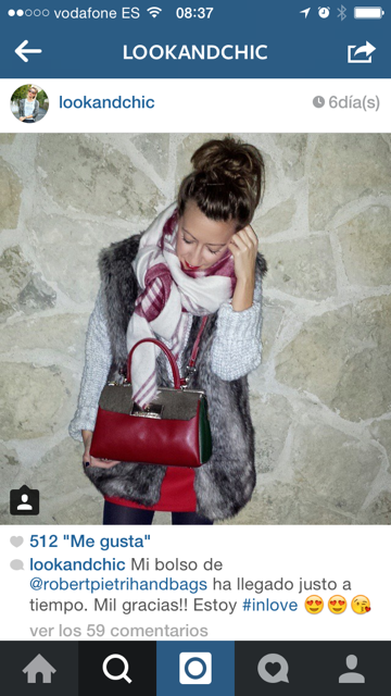look and chic bolso robert pietri
